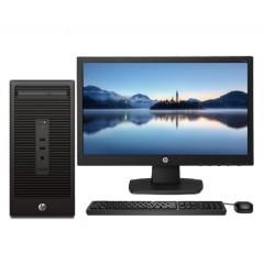 惠普电脑HP 288 Pro G2 MT(I5-6500/4G/1T/2G显卡/DVD/Win7HB/19.5寸显示器)